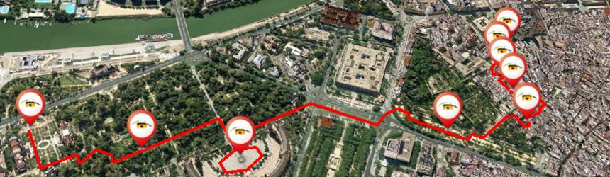 ruta turistica por sevilla